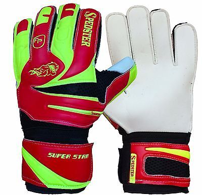Kids goalkeeper, goalie, soccer gloves, FINGER PROTECTED SIZE:3*