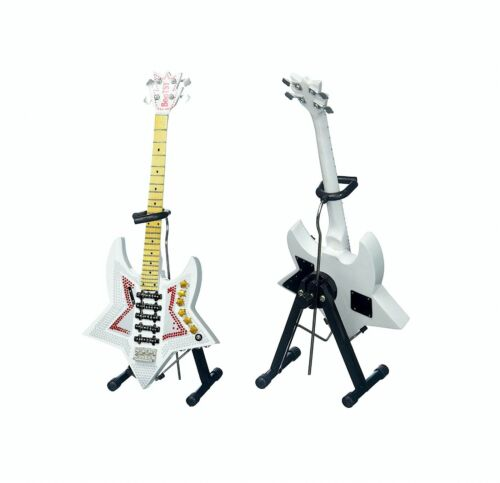 "Bootsy Collins ""Space Bass"" Miniature Guitar Replica w/Stand - Axe Heaven Brand"