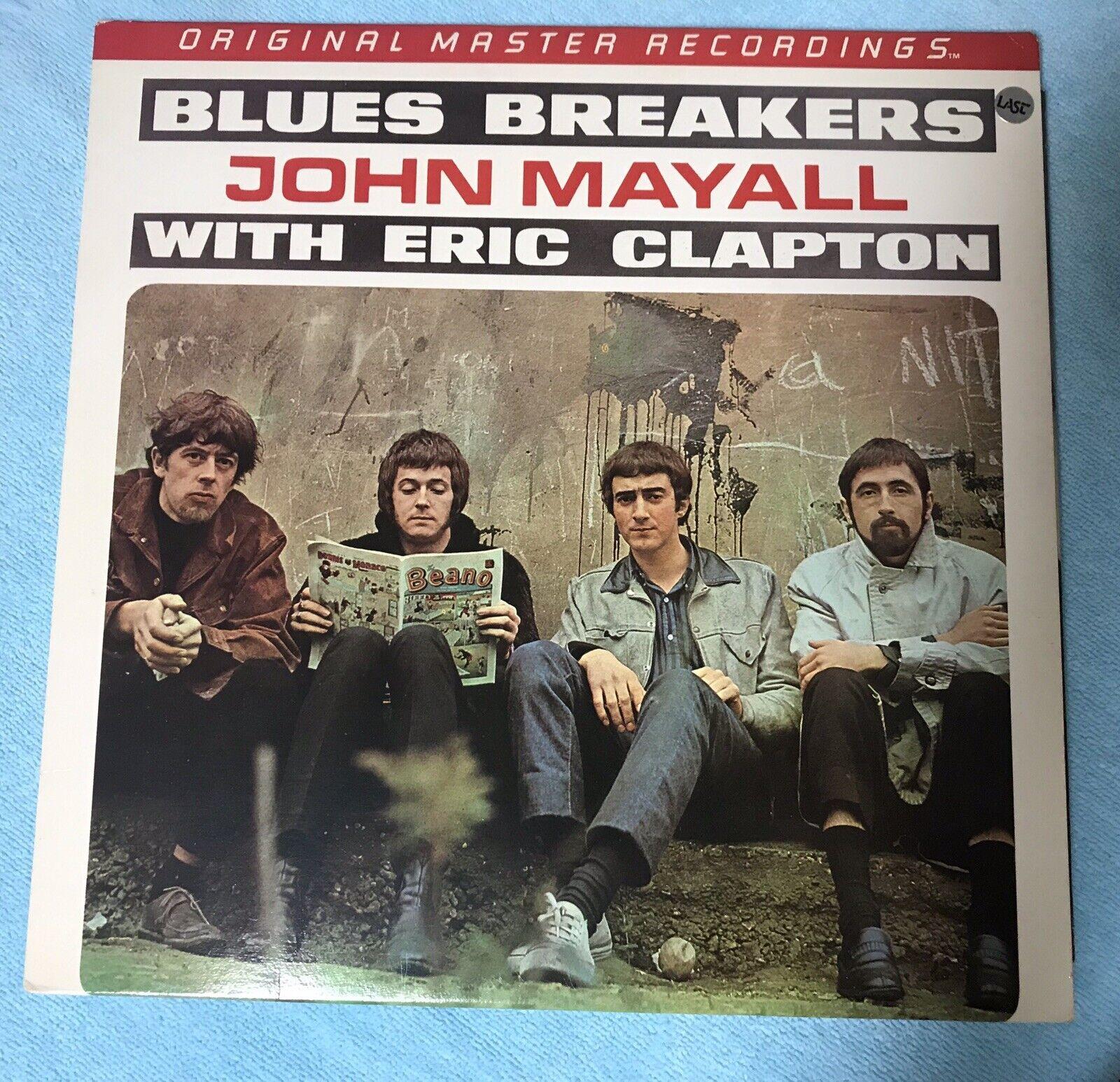 ERIC CLAPTON - JOHN MAYALL BLUES BREAKERS - 1984 ORIGINAL MASTER RECORDING VINYL