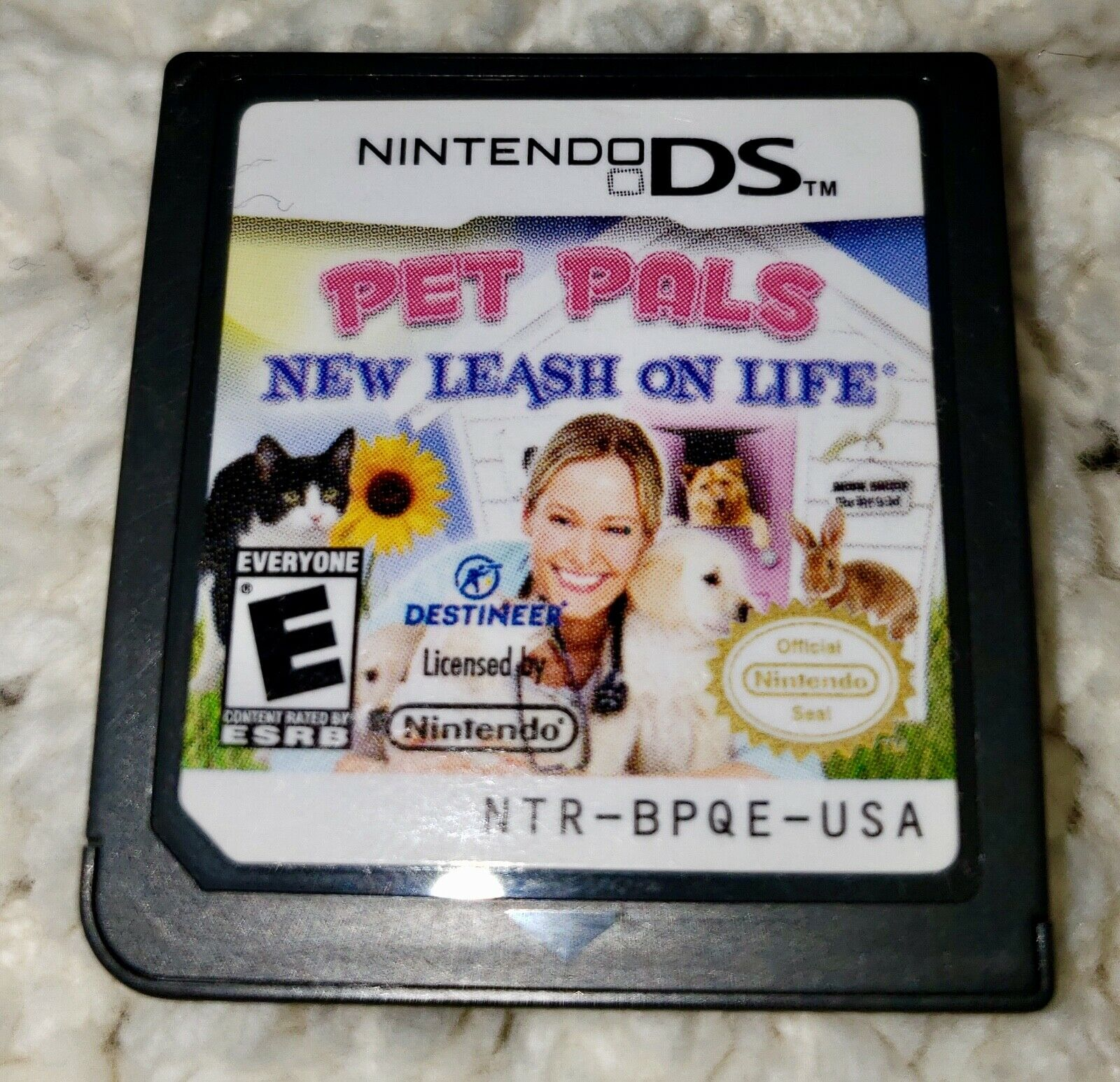 Pet Pals New Leash On Life Nintendo DS, 2010 GAME CARTRIDGE ONLY k - $1.99