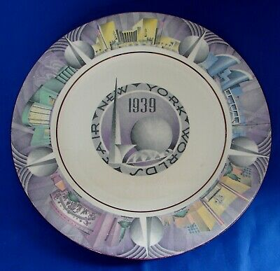 1939 NYWF HOMER LAUGHLIN GEORGE WASHINGTON ANNIVERSARY PLATE 10