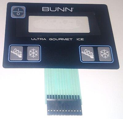 Bunn Factory Ultra-2 Membrane Switch Push Buttons 32126.10041005 Instructions S