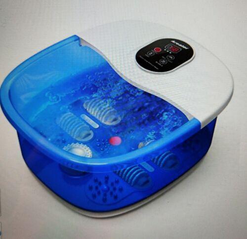 Fußbad Massagegerät, Arealer, Fußreflexzonenmassage elektrischer Spa Heizung mit