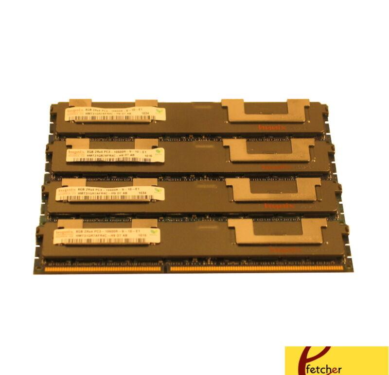 32GB (4X8GB) Memory For HP Proliant G8 Models DL360P DL380E DL380P DL385P DL560