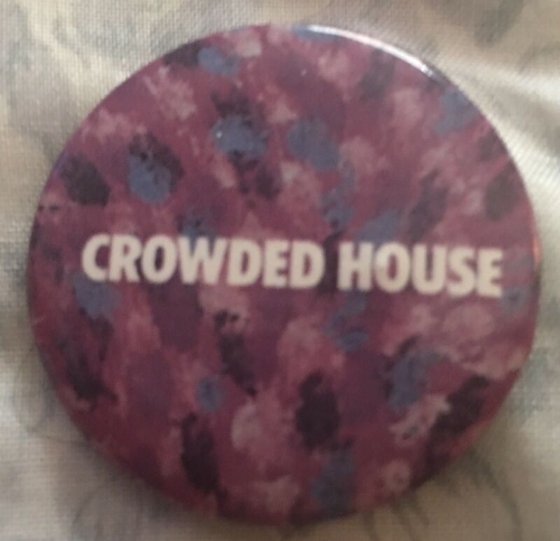 Crowded House Promotional Pinback
