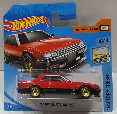 Hot Wheels diecast /'82 Nissan Skyline R30 #10//10 FJV44 HW Factory Fresh 2018