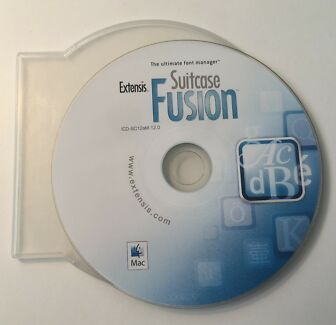 Extensis Suitcase Fusion 1.0 (v12.0) Software Install DVD (Mac)