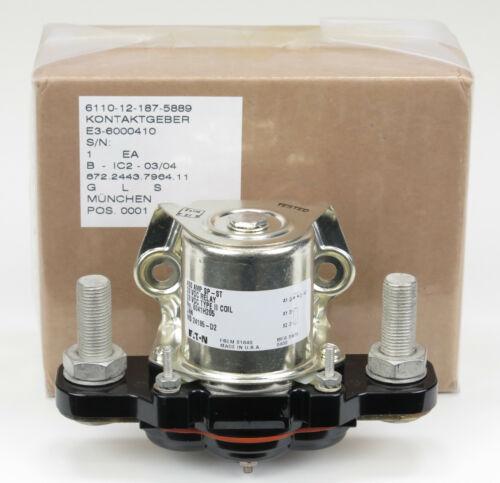 Cutler Hammer / EATON Relay 400 AMP / 28VDC Type II Coil SP-ST # 6041H167