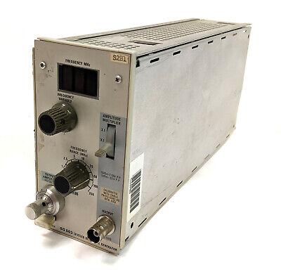Tektronix Sg503 Sg 503 250 Mhz Sinewave Generator For Tm500 Series As-is