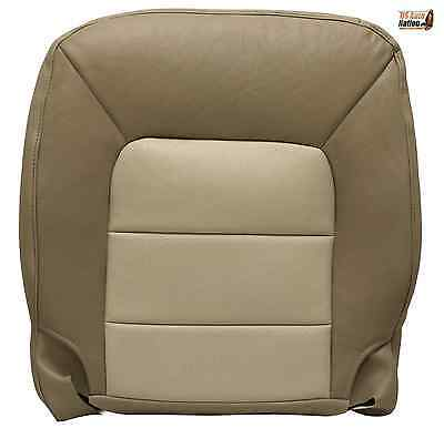 (2003 to 2006 Ford Expedition Eddie Bauer Driver Bottom Leather Seat Cover Tan)