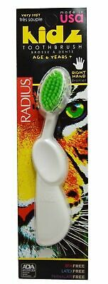 Radius Toothbrush Kidz, Right Hand Very Soft, kids age 6+, A