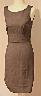 H&M Career Gray Sleeveless Sheath Dress Size 6