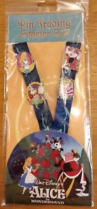 Disney Trading pins Alice in Wonderland booster set