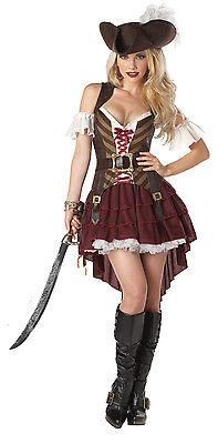 Dame Pirat Kostüme (Piratin, Pirat Kostüm Damen, Sexy Swashbuckler 01164)