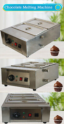 Techtongda 110v Chocolate Tempering Melter 2 Pan3 Pan4 Pan Stainless Steel