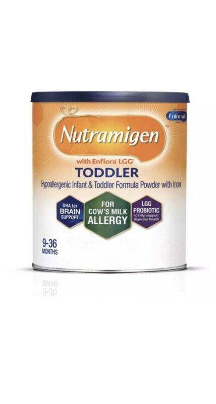 4 Nutramigen Toddler w Enflora LGG Hypoallergenic Formula 12.6oz cans