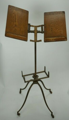 Vintage Thompson & Thomas Folding Library Dictionary Bible Bookstand