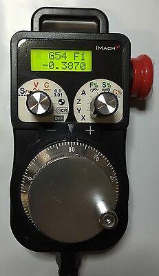 P1A-S USB CNC MPG Pendant Handwheel for Mach3              Mach4, LinxCNC, UCCNC