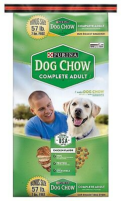 Purina Dog Chow Complete Adult Chicken & Barley Dry Dog Food 57 Lbs High Quality