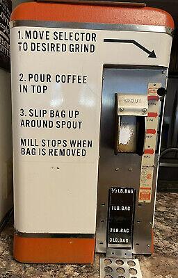 Vintage Electric 1950s Commercial Coffee Grindergrindmaster 500works Great