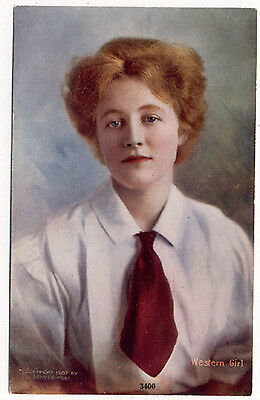 1907 Tammen Denver Post Lady National Winner Postcard   Now On Sale   Pc4668