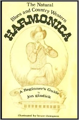 Blues & Western Country Mundharmonika Player Harp Technique Hits Book Spiel A-Z