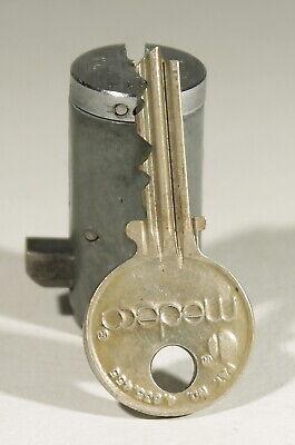 Medeco Cott High Security Vending Machine Lock T Handle Cylinder 1 Key