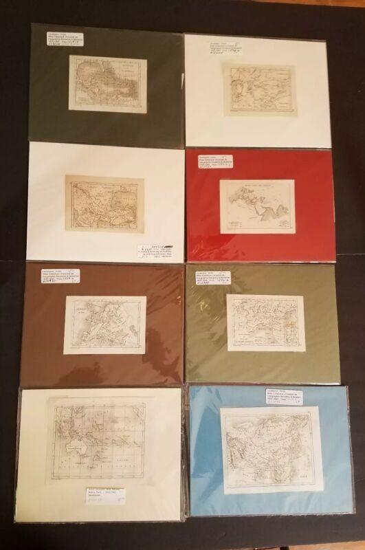 1835 Levasseur Maps Lot of 63 -  Original with mats
