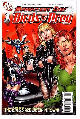 BIRDS OF PREY  # 1 VFNM 2ND PRINT 2010 1ST APP WHITE CANARY ORACLE HUNTRESS LOW