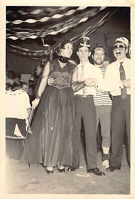 College Halloween Party Photos (HALLOWEEN COSTUME PARTY BALL COLLEGE STUDENT YOUNG ADULTS VTG 1960s PHOTO)