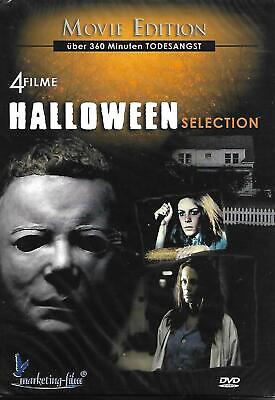 Halloween Selection 4 Filme Movie Edition NEU! noch in Folie eingeschweißt! OVP!