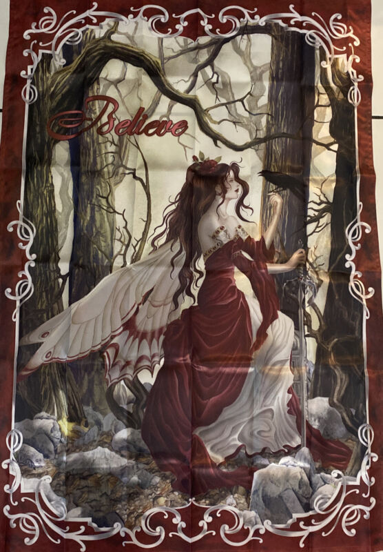"Nene Thomas Fairy Flag Collection ""Believe""Flag ~ The Hamilton Collection ~ New"