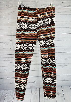 Glacier Fleece Pant - Glacier Canyon Womens Pants Sz Medium Fleece Lined Orange Brown