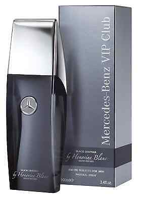 Mercedes Benz VIP Black Leather Perfume 3.4oz. Honorine Blanc 2015 (Sold Out)