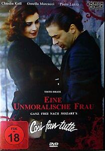 Tinto-Brass-UN-INMORAL-FRAU-Cosi-Fan-Tutte-CLAUDIA-KOLL-Paolo-Lanza-DVD