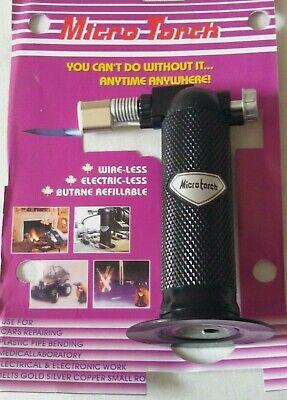 Butane Gas Micro-blow Torch Lighter Welding Soldering Brazing Refillable