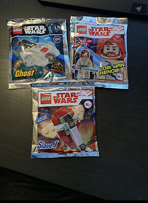 LEGO Star Wars x3 Foil Packs