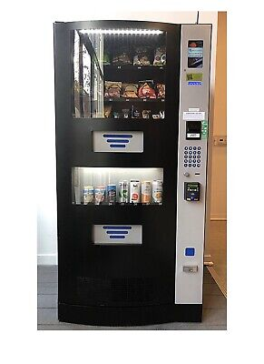 Great Deal 2 Used Vending Machines For 1859 Seaga Hy900. See Description