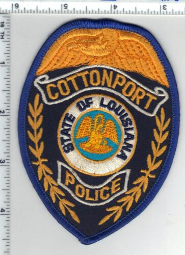 Cottonport Police (Louisiana) Shoulder Patch - new from the 1980