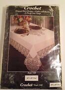 Crochet Tablecloth Oval