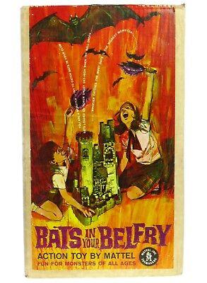 Vintage Mattel Bats in your Belfry Dracula Monster Halloween Game w/Box