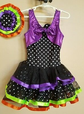 Halloween Dance  Costume Girls Size Medium (Revolution Halloween)