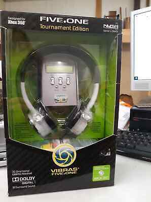 VIBRAS 5.1 CH SURROUND  SOUND XBOX 360 GAMING HEADSET, 3D DIRECTIONAL GAMING covid 19 (Xbox 360 Surround Sound coronavirus)