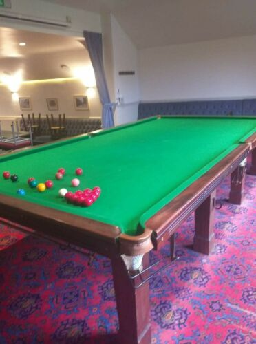 Full size snooker table With Cover, Balls, Rests, Triangle