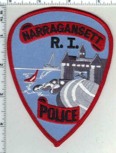 Narragansett Police (Rhode Island) 1st Issue Shoulder Patch
