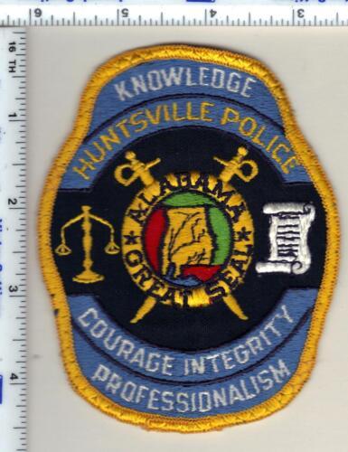 Hunstville Police (Alabama) Shoulder Patch - uniform take-off from 1989