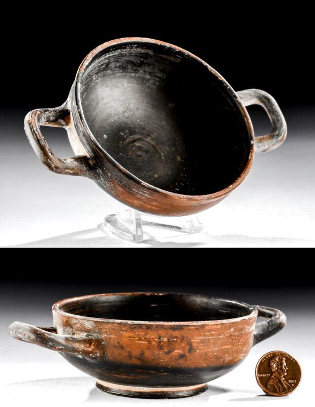 Small Greek Attic Pottery Kylix