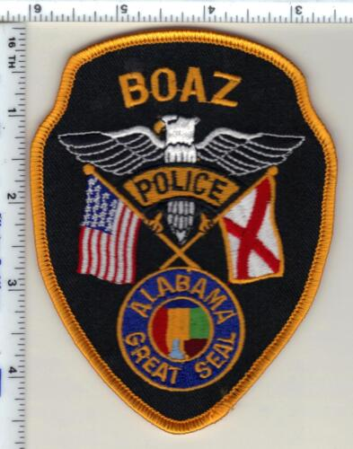 Boaz Police (Alabama) Shoulder Patch - New from 1989