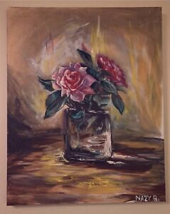 BEAUTIFUL FLOWER PAINTING FOR SALE