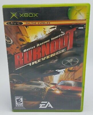 Burnout Revenge (Microsoft Xbox, 2005) Complete & Tested - FREE SHIP USA for sale  Shipping to Nigeria